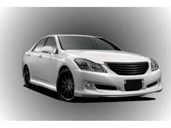 【ABS製・フロントハーフエアロ単品】軽量・高品質・200系クラウンロイヤル