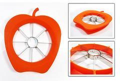 送料込価格!簡単りんごカッター オレンジ