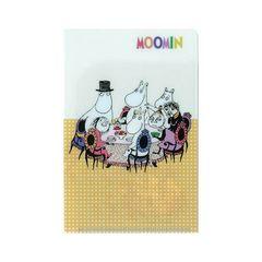 【ムーミン】可愛い手紙.プリクラ.メモ.写真.切手等♪ミニダブルファイル