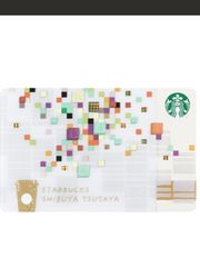 スタバ TSUTAYA渋谷限定カード