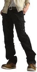 2WAYカーゴパンツ メンズ ブラック