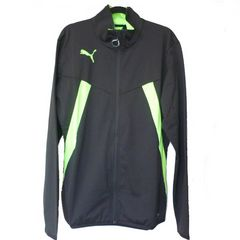 新品●定価8100円 PUMA 黒トレーニングジャケット(L)