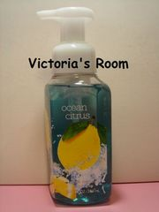 Bath&BodyWorksオーシャンシトラス除菌ハンドソープ泡殺菌レモンソーダ限定