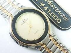 5974/PAULMONTAGNE定価41000円★新品未使用タグ付メンズ腕時計