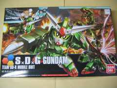 SDBF No.032 SD SxDxGガンダム 新品 ガンダムビルドファイターズトライ