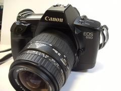 キヤノン CANON EOS 650   レンズ付