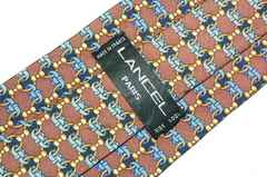 LANCEL(ランセル) ネクタイ チェーン柄 408370C1R1