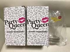 浜崎あゆみParty Queen HALF PINT GLASS 新品、未使用