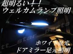 mLED】レクサスRX350/450h前期後期/ウェルカムランプ足元照明ホワイト