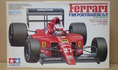 1/20 タミヤ フェラーリ F189 後期型 ポルトガルGP仕様