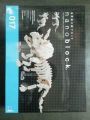 新品ナノブロック トリケラトプス骨格モデル
