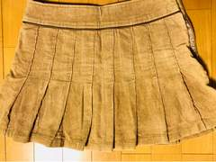 プリーツミニスカート/フレアスカート