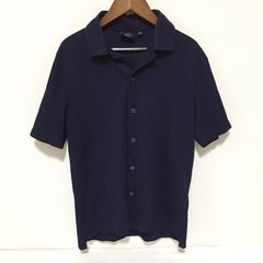 #ポロシャツ ネイビーS
