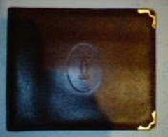 正規品池袋三越代理店購入カルティエ2つ折り財布