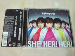 CD+DVD Kis-My-Ft2 SHE!HER!HER! 初回限定盤