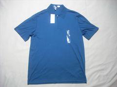 48 男 CK CALVIN KLEIN カルバンクライン ジップポロシャツ M