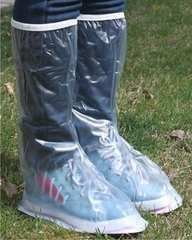 防水 靴 シューズ レインカバー 雨/半透明・自転車,バイク,通勤
