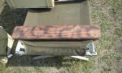 自衛隊 G.Iベット用 イス&テーブル 砲弾ケース板