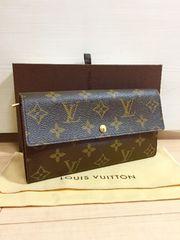 1円 ◆正規品◆ 極上美品 ルイヴィトン モノグラム 新型 長財布