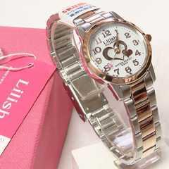 シチズンQ&Q リリッシュ ソーラー電源レディース腕時計 H997-906