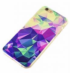 iPhone6/6s ハードケース クリスタル ブルー!