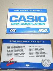 MSX  CASIO GPM-COMPILATION VOL.01