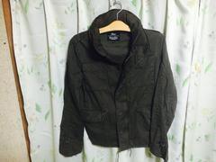 【ミリタリーボリュームネックJK】カーキ/L/M-65