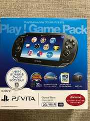 PlayStationVita 3G/Wi-Fi Play! GamePack クリスタルブラック