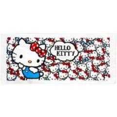 【キティ】可愛い洗面所.台所.お出掛け.スポーツ時に♪フェイスタオル