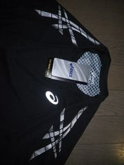 未使用新品タグ付き★asics★速乾ドライ系機能Tシャツ!