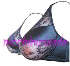 ★エッチな透けブラ★人工乳房用ブラジャー90Dシリコンバストに