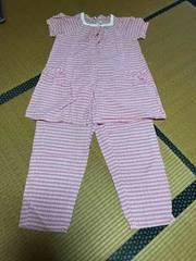 美品 レディース マタニティ パジャマ 授乳 半袖 M