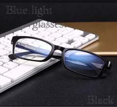 スクエア メガネ ブルーライトカット 伊達眼鏡 UVカット 黒