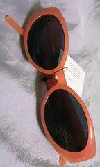 ファッション サングラス 未使用品 オレンジ tokyo bay デッドストック キャッツ