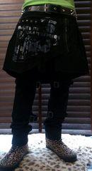 即決SEXPOTREVENGEスカルボンテージパンツ!ゴシックパンクロック風男塾96猫ヘルキャット