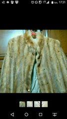 美品!セレブマダム必見!ゴールドミンクのハーフコート