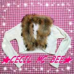 CECIL MC BEE♪ファー付♪ボレロ☆☆