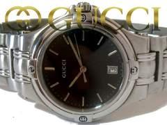 正規【良品】1スタ グッチ/Gucci 9040M 定価13万 メンズ 腕時計