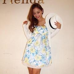 新品タグ付rienda7560円リエンダベアミニワンピースフラワー花柄スカート