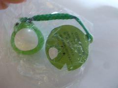 蛙鈴ストラップ(あま蛙緑)新品