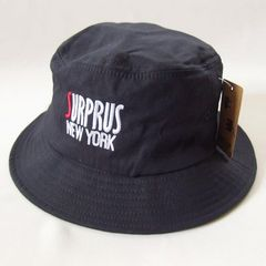 帽子♪サイド刺繍 TPO バケットハット ブラック アウトドア