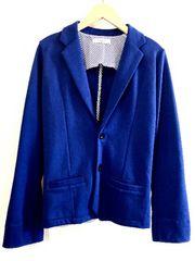 GLENMIST■テーラードジャケット■スウェット■グレンミスト■青
