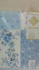 綿フリースやわからポケットシーッ ブルー系105×240×25�p