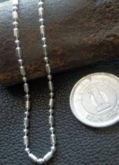 イタリア製シルバー 925チェーン 1.8mm50cm 5.0g *bead1+1/180