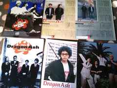 Dragon Ash  1998〜2001 切り抜き 65ページ&ポストカード