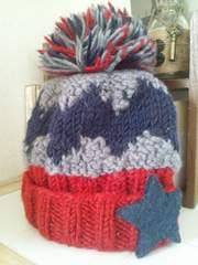 ダディオダディ/ポンポンニット帽