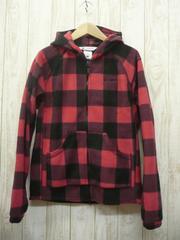 即決☆コロンビア 特価 フリース パーカー RED/XS 防寒ジャケット