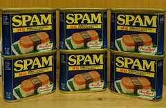 送料込み※スパムポーク6缶