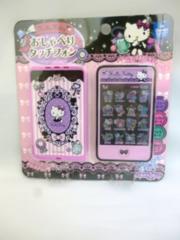 新品 ハローキティ おしゃべりタッチフォン 紫 スマホ 携帯