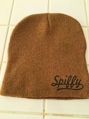 新品!おしゃれなニットキャップ 茶色 ブラウンニット帽